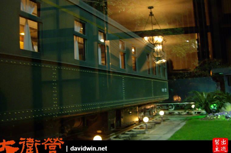 上海老站的老火車車廂