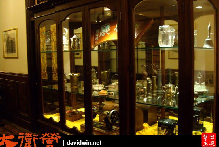 上海老站的內部裝飾