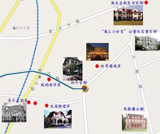 上海桃江路周邊地圖