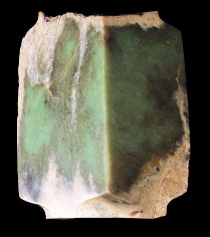 大青玉琮(Large Green Jade Cong)