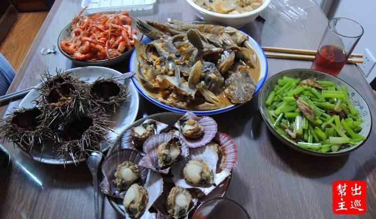咱大連的海鮮都是渤海灣裡的,絕對扛扛的