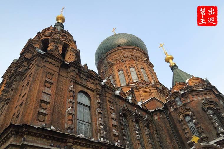 來到哈爾濱另外一個地標級建築:聖索非亞教堂