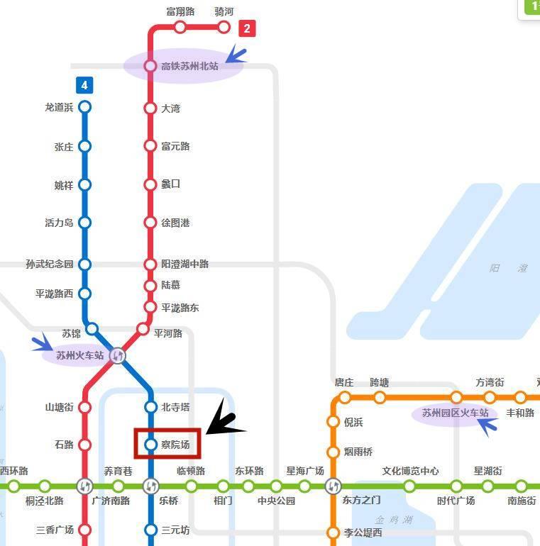 蘇州地鐵一日路線