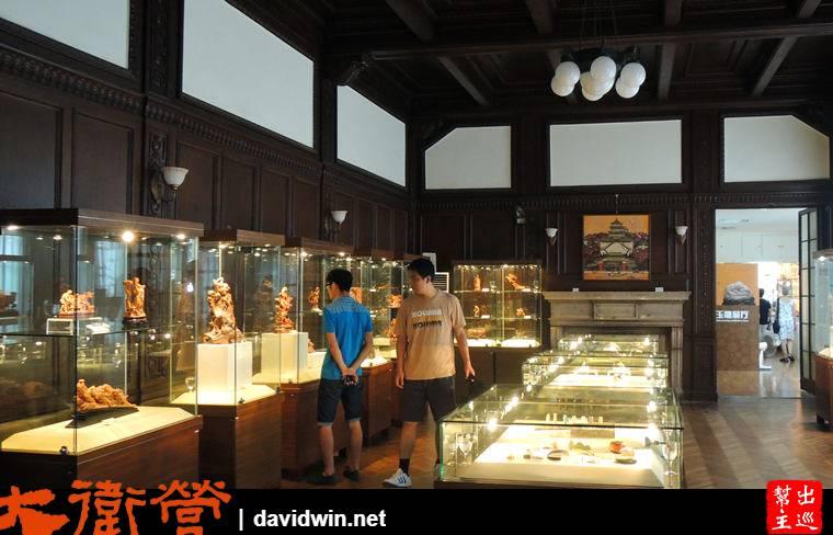 上海工藝美術博物館展出的工藝品