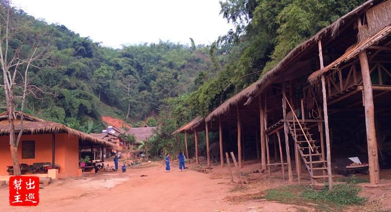 大象營地同時也是工作人員居住的地方