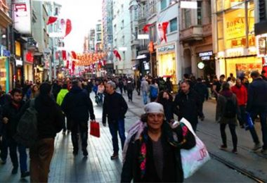 伊斯坦堡。獨立大街