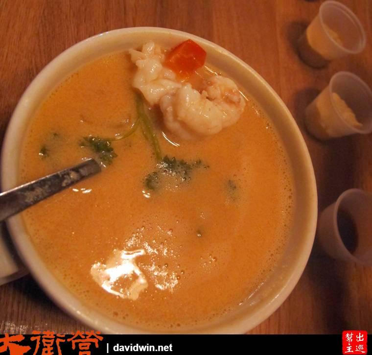 號稱冰島最好喝的龍蝦湯