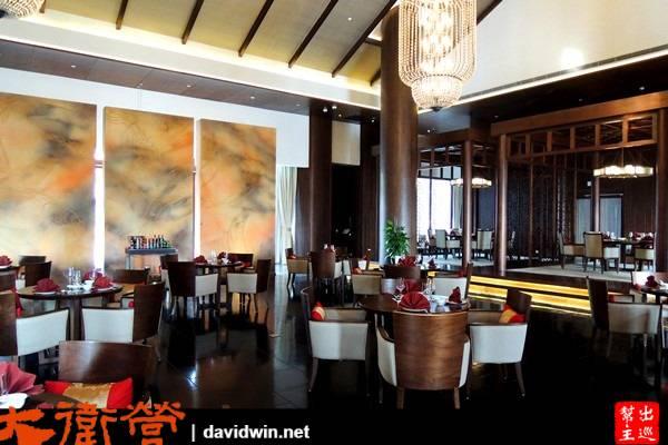 悅椿有六間餐廳,我來到位在酒店後方的這一間,