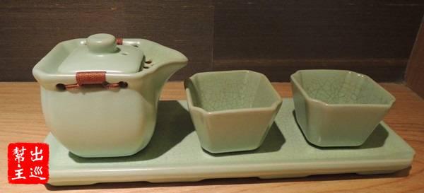 可愛的茶具組,上面這些物件都清新脫俗,風雅中帶有意境