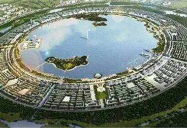 上海極東之滴水湖、南匯嘴濱海公園