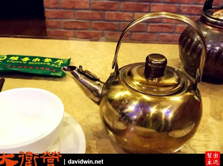 上海 維吾爾餐廳奶茶