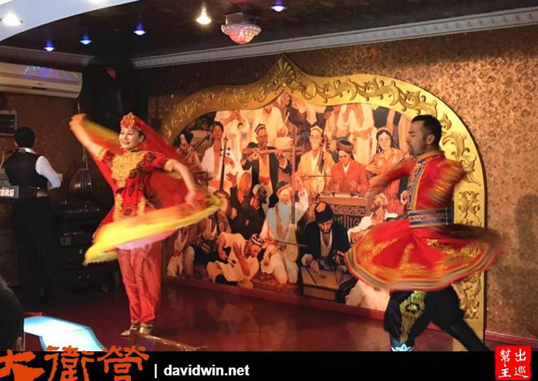 上海 維吾爾餐廳傳統舞蹈演出
