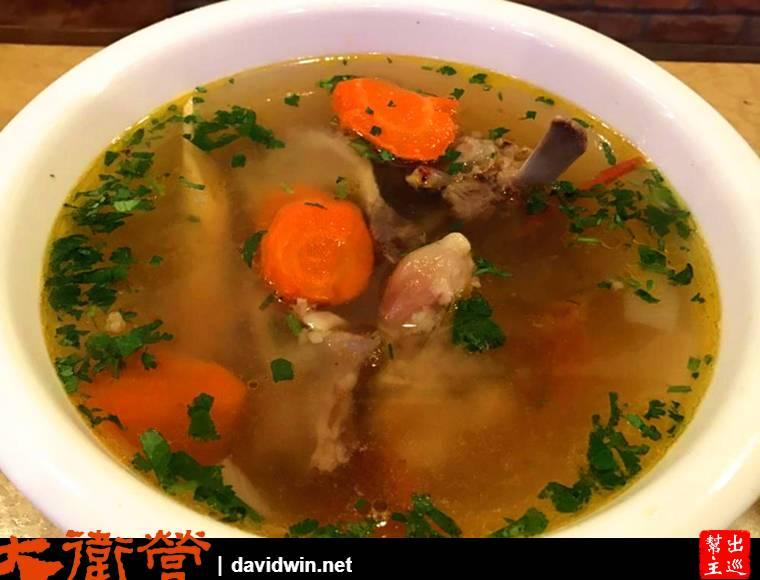 上海 維吾爾餐廳羊肉湯