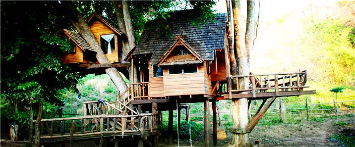 【清邁|住宿】不可思議的驚奇樹屋:Rabeang Pasak Tree House Resort