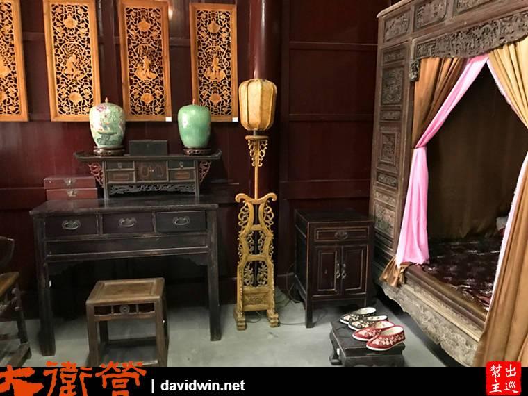 李茂春夫婦居室,也就是濟公父母親的房間