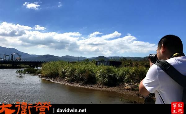 磺溪是不經意形成的人工濕地