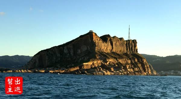 難得的從海上去看我們生活的台灣島,這體驗還是挺特別的