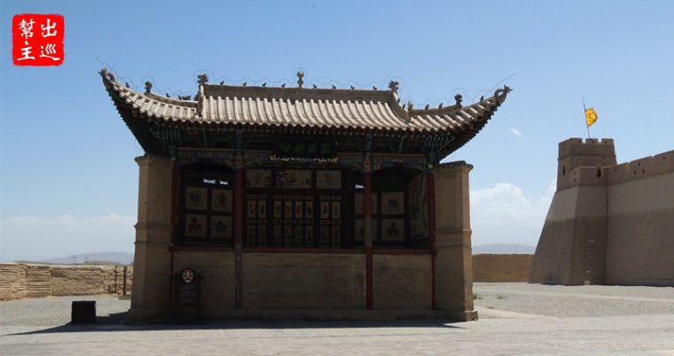 嘉峪關城裡面是『文昌閣』跟『關帝廟』