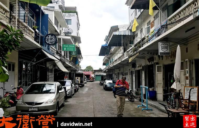窗外就是曼谷地標鄭王廟:RIVA ARUN