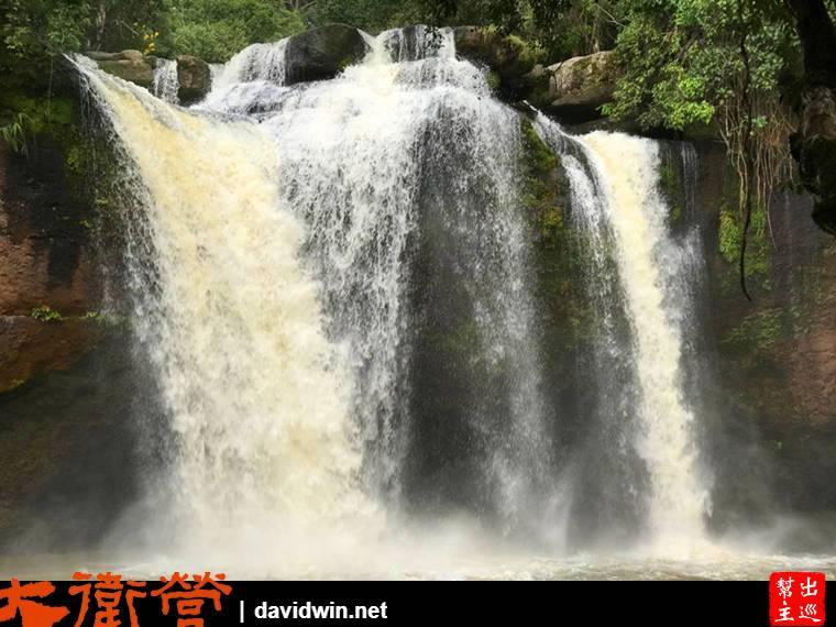 考艾國家公園Haew Su Wat 瀑布
