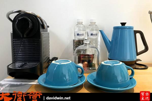 1969台中藍天飯店房間膠囊咖啡機