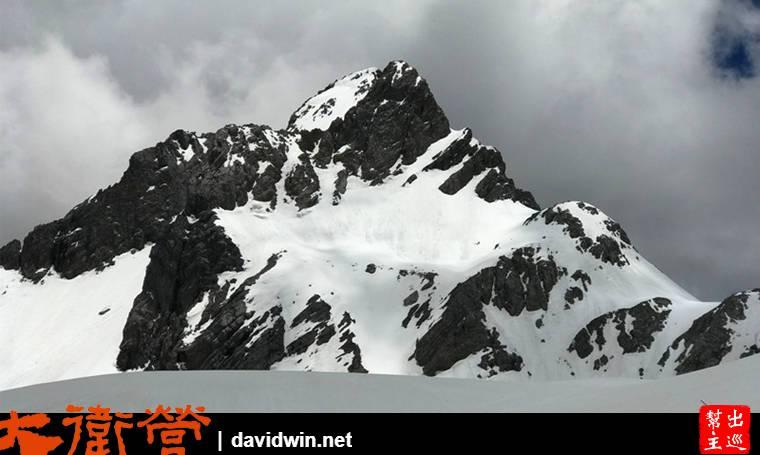 雪山近在眼前的感動真的很難形容