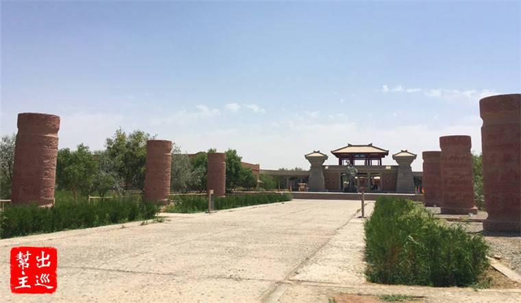 陽關,位在敦煌市西南70公里處,始建於西漢武帝時期,是絲路上的重要關隘