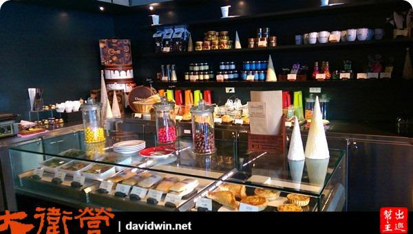 這家店的巧克力與甜品,有『吃到飽的下午茶』!很妙吧?