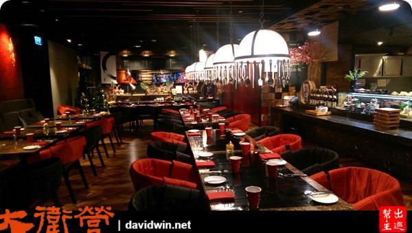 餐廳都這麼有設計感,來到So/ Bangkok根本就像是來到一個藝術Gellary嘛