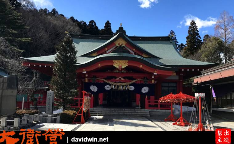 宮城的護國神社看看了,位在後方大紅色的神社