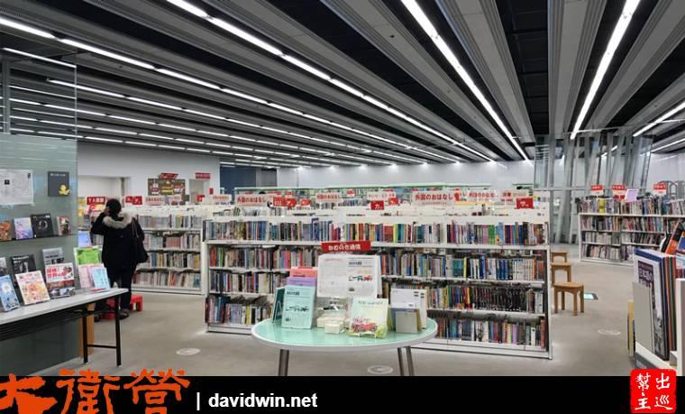 媒體中心的主要功能,開放式的圖書館