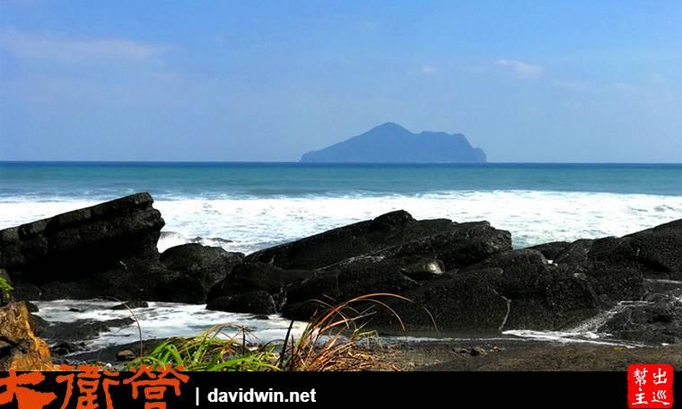 天氣好的時候龜山島清晰的在眼前,讓人忍不住多拍幾張照片打卡