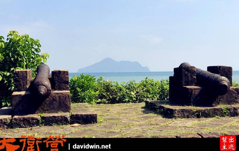 北關海潮公園,在1795至1820年間便有駐兵防衛,園內還留有的兩座砲台