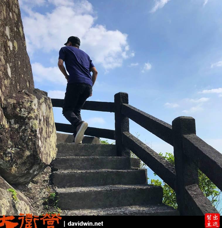 有幾段的石階爬坡,不過整體來說都不算困難等級