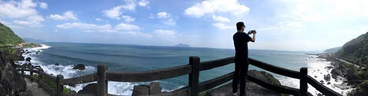居高臨下你會欣賞到更大範圍的太平洋景觀,台灣真的很美很美