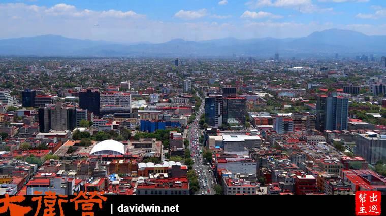 墨西哥市鳥瞰景致