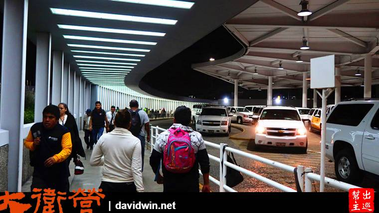 墨西哥機場計程車等候區