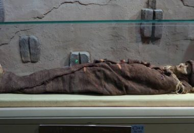 """三千年""""樓蘭女屍""""就在:烏魯木齊博物館"""