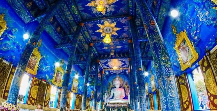 藍廟 Wat Rong Suea Ten