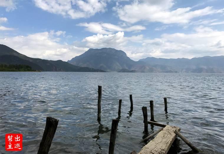 瀘沽湖又稱永寧海、落水海子,是高原淡水湖,海拔高度有2,690公尺