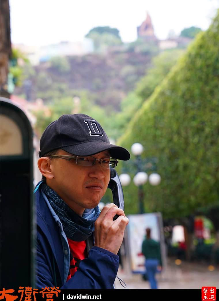 彩色山城瓜納華托Guanajuato街道景致