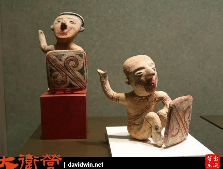 各類人形的陶土捏製品