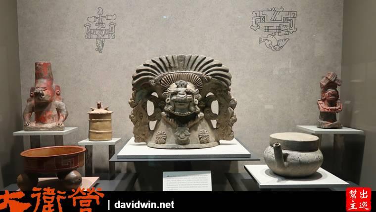 各種文明的石雕也同樣吸引人,不論是人獸的形體神韻都呈現了那個時代的信仰或生活狀態