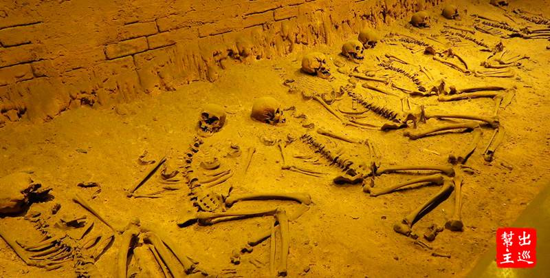 考古的挖掘現場都還原給你看