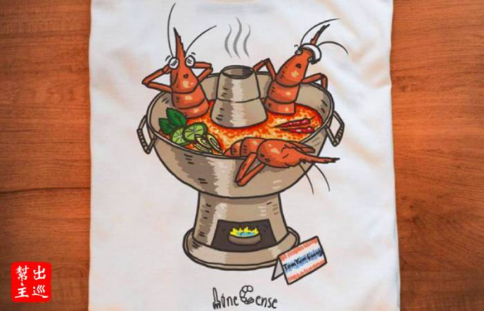 泰式酸辣蝦湯,變成了大頭蝦的泡湯池