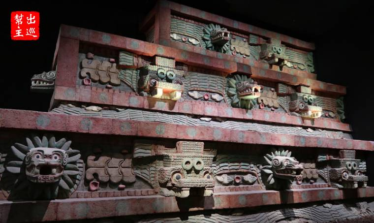 墨西哥國立人類學博物館 特奧蒂瓦坎文明