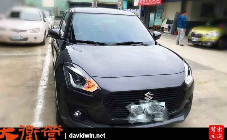 SUZUKI SWIFT 1.0 開箱介紹