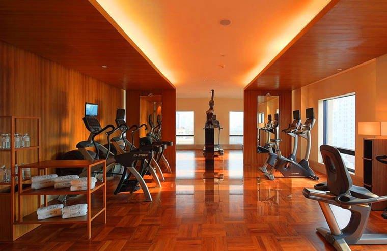上海東方商旅酒店健身房
