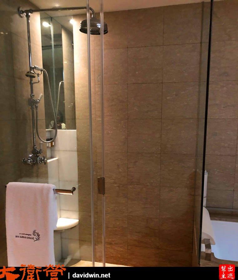 上海東方商旅酒店衛浴乾濕分離