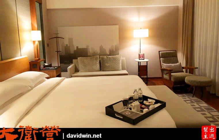 上海東方商旅酒店房間